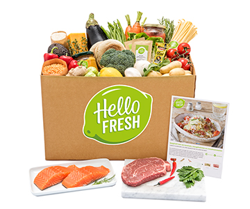 35% Off Your First 4 HelloFresh Boxes